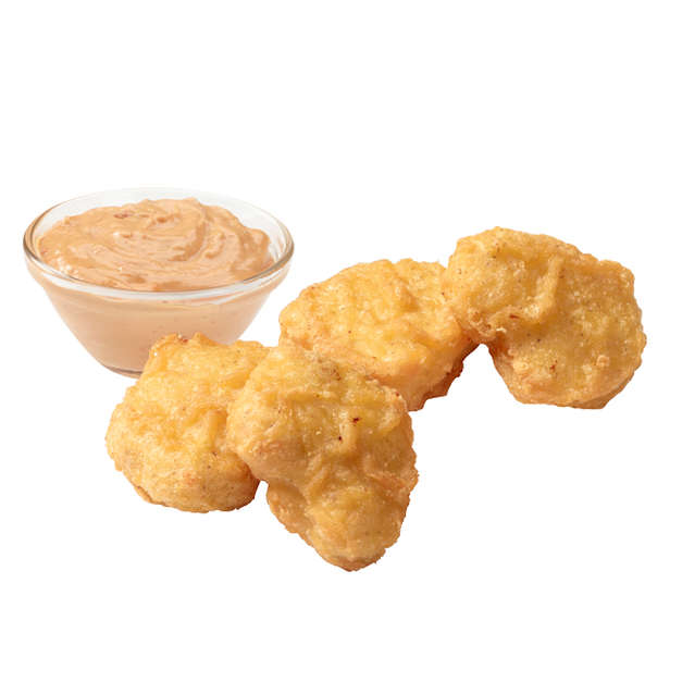 Nuggets Kcal: Chicken Nuggets 4 Pcs + Dip